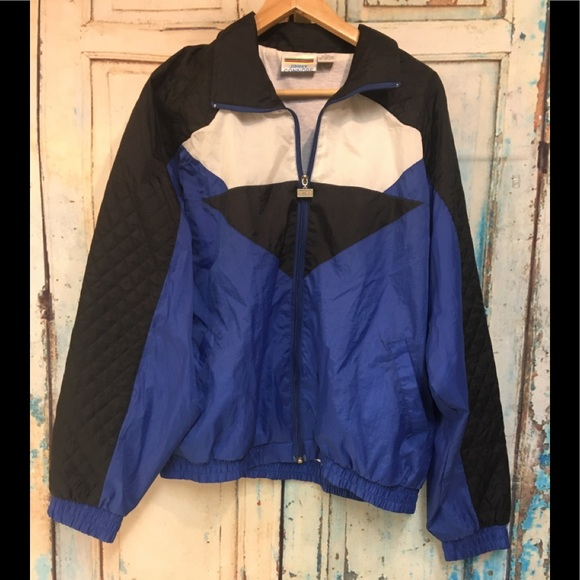 Vintage Jimmy Connors track jacket size xl